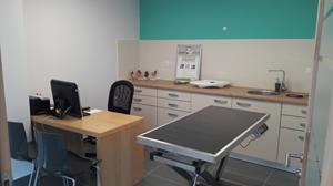Salle de consultations, cabinet vétérinaire Renaissance